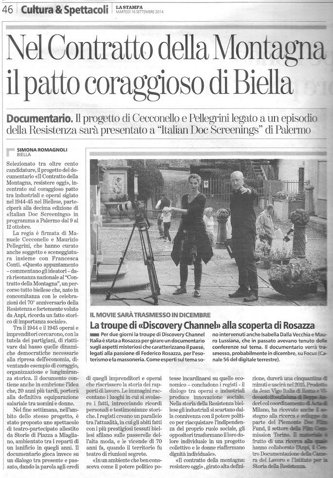 """""""Il Patto coraggioso di Biella"""". Da rinnovare"""